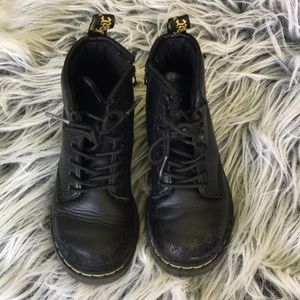 Leather Brooklee Dr Martens boots